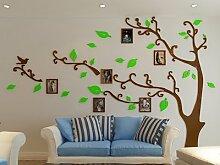 Loterong Style_Abnehmbare Tv Wand Rahmen mit europäischen Stil Kronleuchter mit kreative Bilderrahmen, 40*40