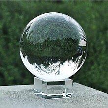 LOTONJT Transparente Kristallkugel,Glaskugel