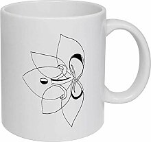 LOTUS' Ceramic Mug/Travel Coffee Mug