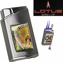 Lotus Feuerzeug Cuban Vista Collection American