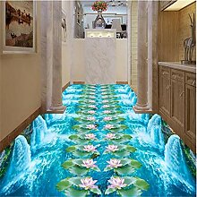 Lotus garten 3d bodenbelag bad küche gehweg