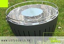 Lotus Grill Kohle-Tischgrill, 34cm, Grau