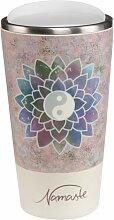 Lotus Kaffeebecher to go Lotusblüte rosa Bambus