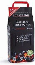 LotusGrill Buchen-Holzkohle 2,5 kg! Speziell