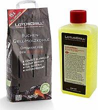 LotusGrill Buchenholzkohle 2,5 kg Sack inkl.