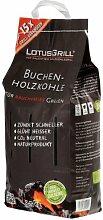 LotusGrill Buchenholzkohle 2,5 kg Sack,