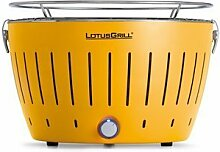 LotusGrill GE-34Grill Charcoal Grill–Barbecues & Grills (Kettle, Yellow, Round, Plastic, Stainless Steel, Stainless Steel)