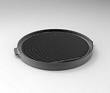 LotusGrill Grill-Teppanyakiplatte XL - Speziell entwickelt für den raucharmen Holzkohlegrill/Tischgrill XL
