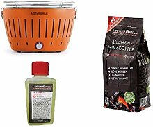 LotusGrill - NEUES Modell 2019 - ORANGE Barbecue