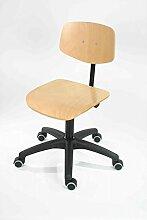 Lotz Arbeitsstuhl Modell 6162 - mit Rollen, Sitz