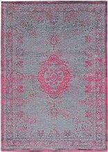 Louis de Poortere Teppich verblassen Welt pink