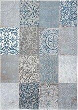 Louis de Poortere Teppich Vintage Brügge blau