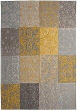 Louis de Poortere Teppich Vintage Gelb