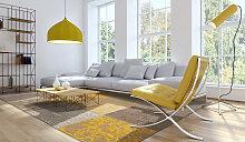 louis de poortere Vintage 80 x 150 cm 8084 Yellow