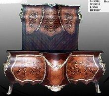 LouisXV Barock Bett Rokoko Antik Stil