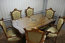 LouisXV Barock Esszimmer Tisch Stühle Armlehner