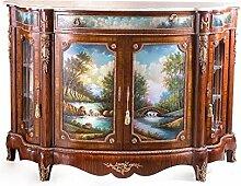 LouisXV Barock Schrank Kommode Antik Stil MoBa1444