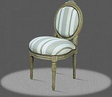 LouisXV Barock Stuhl Antik Stil Rokoko AlCh0010Go