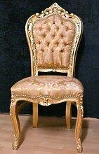 LouisXV Barock Stuhl, schlagvergoldet,