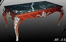 LouisXV Barock Tisch mit silbernen n antik Stil