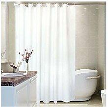 LOUMVE Peva Duschvorhang Textil Wasserdicht