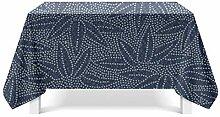 LOUMVE Polyester Tischdecke Abwaschbar Lotuseffekt
