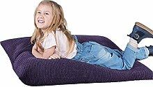 Lounge Pug®, Kinder Sitzkissen, Sitzsack, Pom-Pom