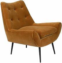Lounge-Sessel Glodis whiskyfarben