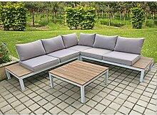 Lounge Set VALENTINA 4tlg Sitzgruppe Sitzgarnitur