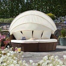 Loungebett Coretta mit Kissen Garten Living