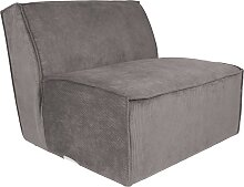 Lounger - Sofa James - Grau