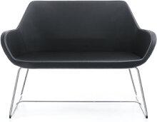 Loungesofa Profim Fan 2-Sitzer Kufen Auswahl Farbe