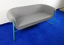 Loungesofa Profim Hover 2,5-Sitzer grau türkis