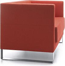Loungesofa Profim Vancouver Lite 2-Sitzer Kufe