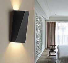Louvra 10W LED Wandleuchte Modern Wandlampe aus