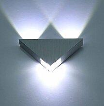 Louvra 3W LED Wandleuchte innen Modern Wandlampe