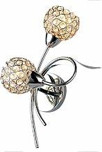 Louvra 40W LED Wandlampe Dekorative Kristalle
