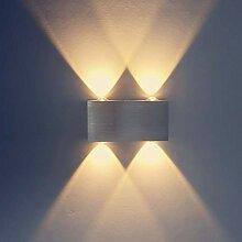 Louvra 4w LED Wandlampe Up und Down Design Moderne