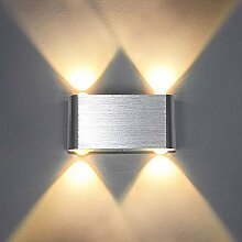 Louvra 4W LED Wandleuchte Modern Wandlampe Innen