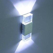 Louvra 6W LED Wandleuchte innen Modern Wandlampe