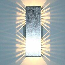 Louvra 6W LED Wandleuchte Modern Wandlampe Innen