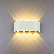 Louvra 8W LED Wandleuchte Innen Modern