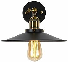 Louvra E27 Retro Vintage Wandlampe Industrie