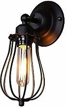 Louvra Retro Wandlampe Industrial Vintage Loft