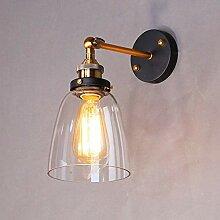 Louvra Vintage Wandleuchten Retro Wandlampe aus