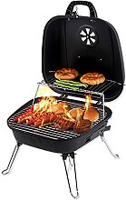 LOUXIAO Grill- Grill Mini Grill Folding Kohle
