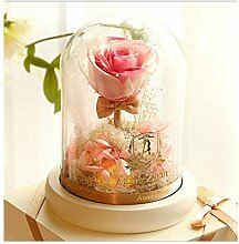 Love and sincerity Ewige Blumen Geschenkbox