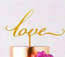 Love Cake Topper Hochzeit Cake Topper Rustic Cake