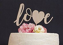 Love Cake Topper Hochzeit Cake Topper