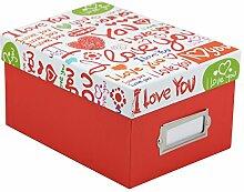 Love Fotobox für 700 Fotos in 10x15 cm